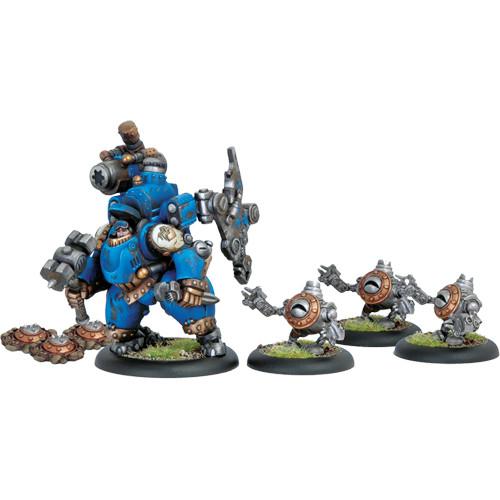 Warmachine: Cygnar - Captain Darius Box Set