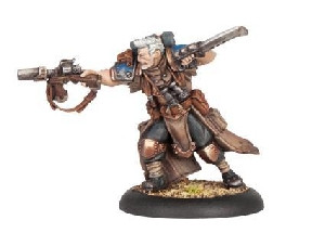 Warmachine: Cygnar - Captain Jonas Murdoch