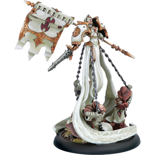 Warmachine: Protectorate - Warcaster Harbinger of Protectorate
