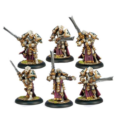 Warmachine: Protectorate - Knights Exemplar Unit Box (6)