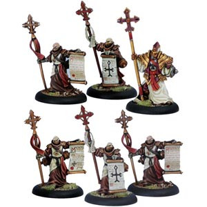 Warmachine: Protectorate - Choir of Protectorate - Unit Box (6)