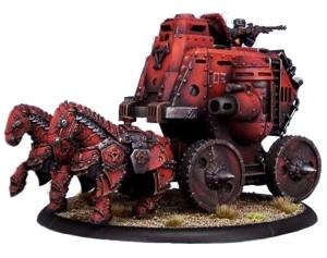 Warmachine: Khador - Gun Carriage