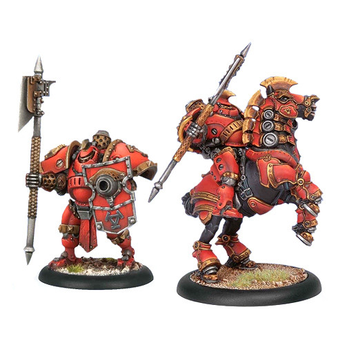 Warmachine: Khador - Man-o-War Drakhun Dragoon Cavalry