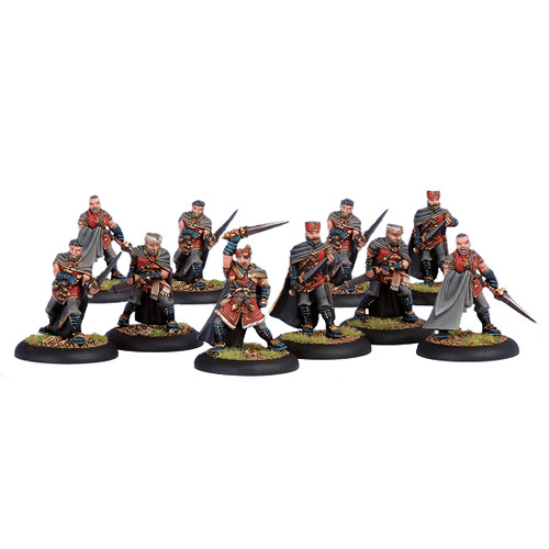 Warmachine: Khador - Kayazy Assassin Allies Unit Box (10)