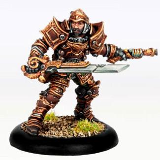 Warmachine: Mercenaries - Warcaster Captain Damiano