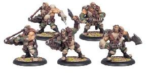 Warmachine: Mercenaries - Ogrun Assult Corp (5)