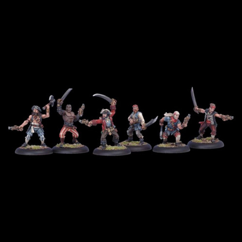Warmachine: Mercenaries - Sea Dog Crew Unit Box (10)