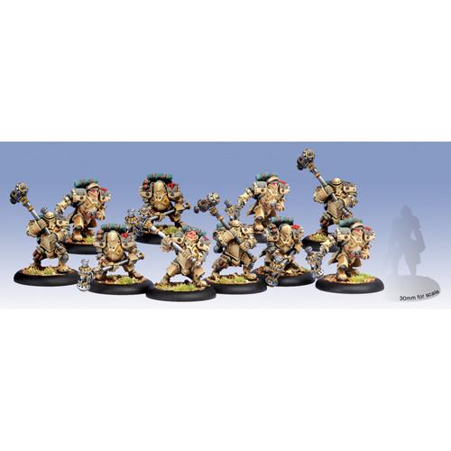 Warmachine: Mercenaries - Horgenhold Forge Guard Unit (10)