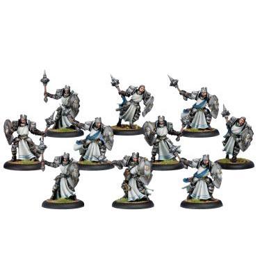 Warmachine: Cygnar - Precursor Knights Allies Unit Box (10)