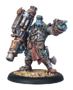 Hordes: Trollbloods - Captain Gunnbjorn Warlock