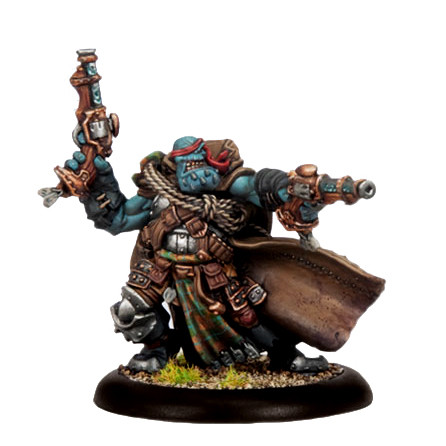 Hordes: Trollbloods - Warlock Jarl Skuld, Devil of the Thornwood