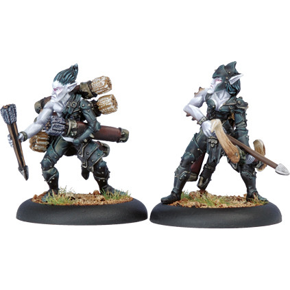 Hordes: Legion - Blighted Archer Officer & Ammo Porter (2)