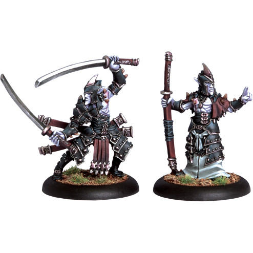 Hordes: Legion - Blighted Swordsmen Abbot & Champion