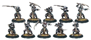 Hordes: Legion - Blighted Nyss Hex Hunter Unit Box (10)
