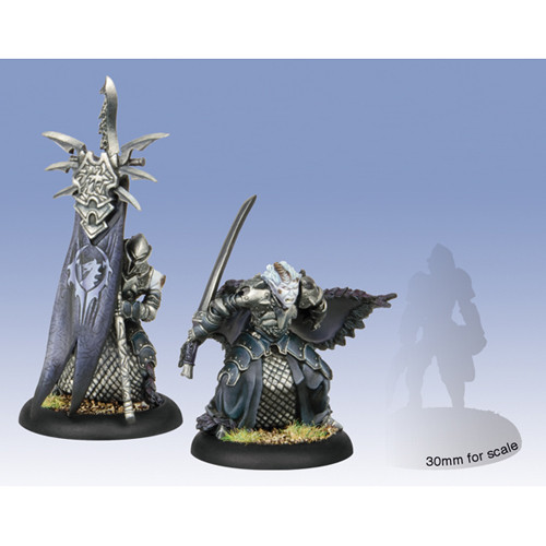 Hordes: Legion - Captain Farilor & Blighted Nyss Standard Bearer
