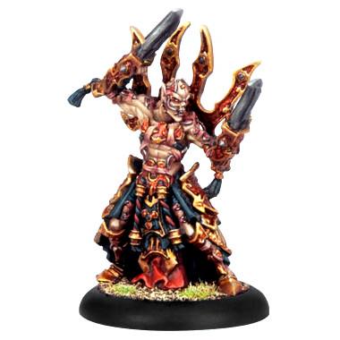 Hordes: Skorne - Warlock Master Ascetic Naaresh
