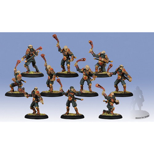 Hordes: Skorne - Venator Slingers Unit Box (10)
