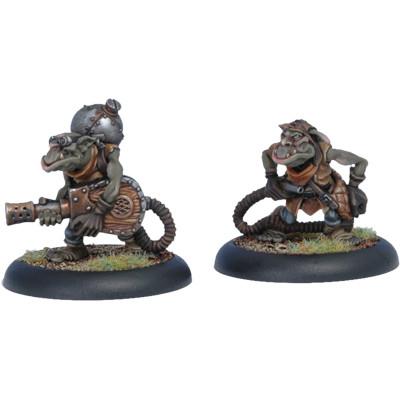 Hordes: Minions - Swamp Gobber Fog Bellows Crew (2)
