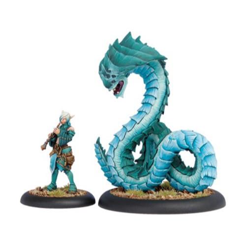 Hordes: Minions - Warlock Dahlia Hallyr & Skarath