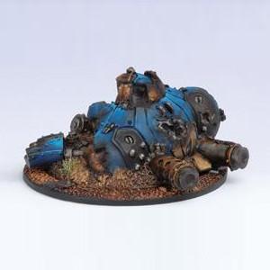Warmachine: Cygnar - Heavy Warjack Wreck Marker