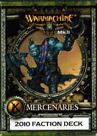 Warmachine: Mercenaries - Stat Card Faction Deck Mk II