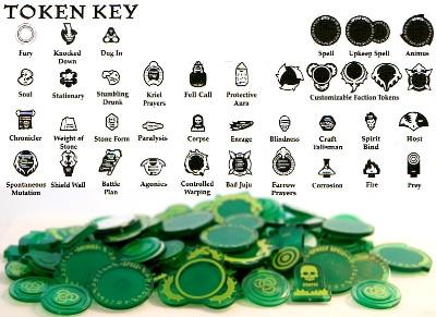 Hordes: Circle - Token Set Mk II