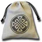 Q-Workshop Celtic Dice Bag