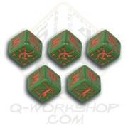 Q-Workshop Green & Red Small Soviet Battle Set (5)