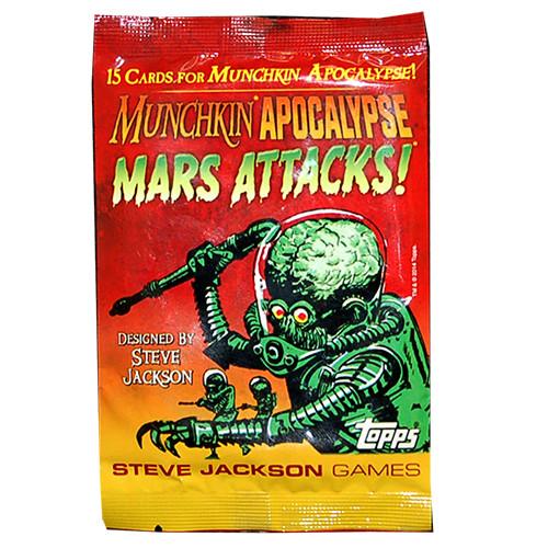 Munchkin Apocalypse: Mars Attacks! Booster Pack