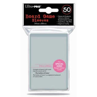 Ultra Pro Board Game Sleeves: Special Size (54mm x 80mm) (50)