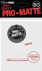 Ultra Pro Sleeves: Pro Matte - White (50)