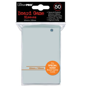 Ultra Pro Board Game Sleeves: Special Size (65mm x 100mm) (50)