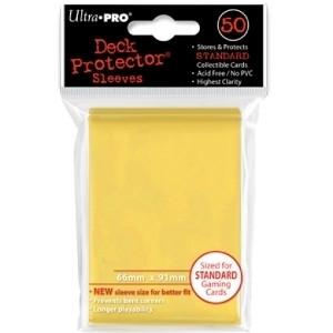 Ultra Pro Sleeves: Yellow (50)