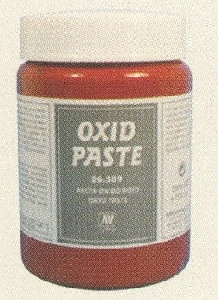 Vallejo Stone Effects: Red Oxide Paste (200ml)