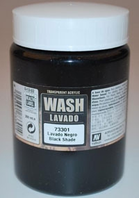 Vallejo Auxiliary Products - Black Wash (200ml)