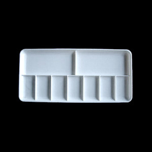Vallejo Auxiliary Products - Rectangular Palette 18x8.5 cm