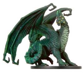 War of the Dragon Queen #38 Large Green Dragon (R)
