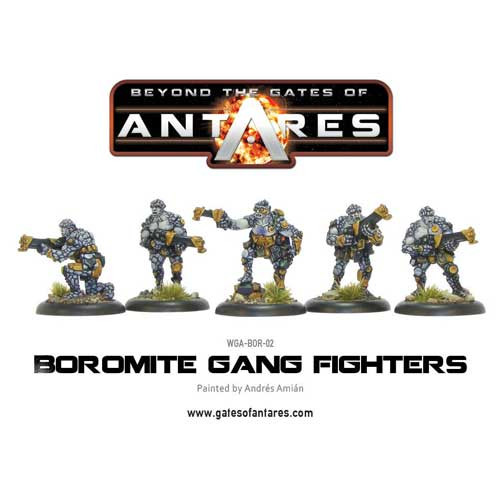 Beyond the Gates of Antares: Boromite - Gang Fighters