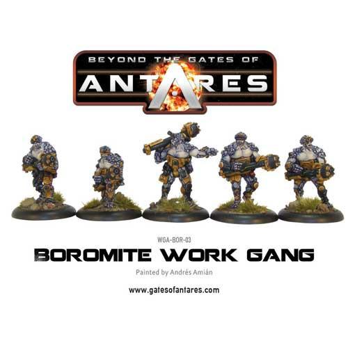 Beyond the Gates of Antares: Boromite - Work Gang