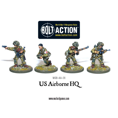 Bolt Action: US Airborne HQ