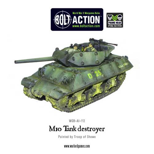 Bolt Action: M10 US Tank Destroyer