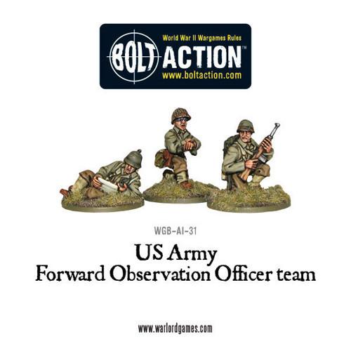 Bolt Action: US Forward Observer Officers Team