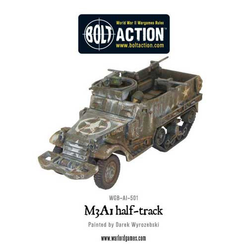 Bolt Action: M3A1 Halftrack