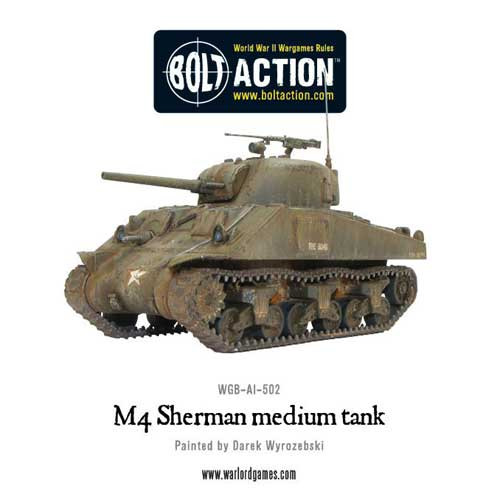 Bolt Action: M4 Sherman (75)