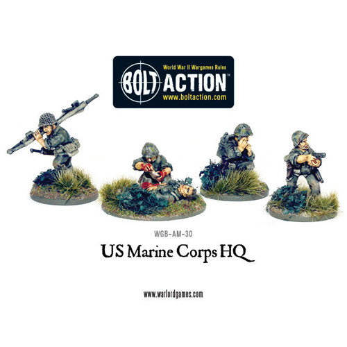 Bolt Action: USMC HQ