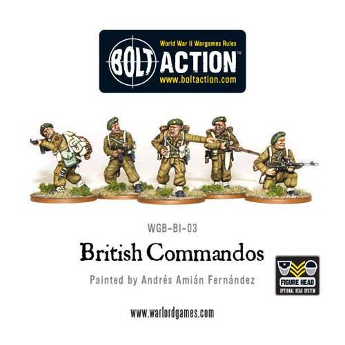 Bolt Action: British Commandos!
