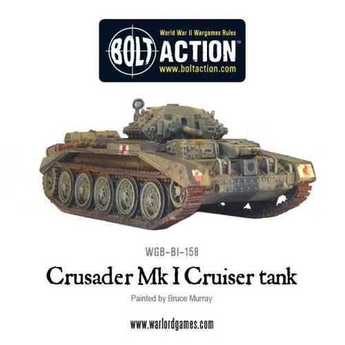 Bolt Action: Crusader Mk I Cruiser Tank