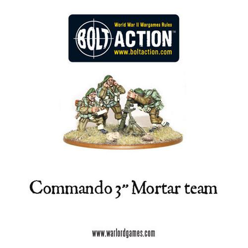"Bolt Action: Commando 3"" Mortar Team"