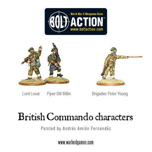Bolt Action: Commando Characters