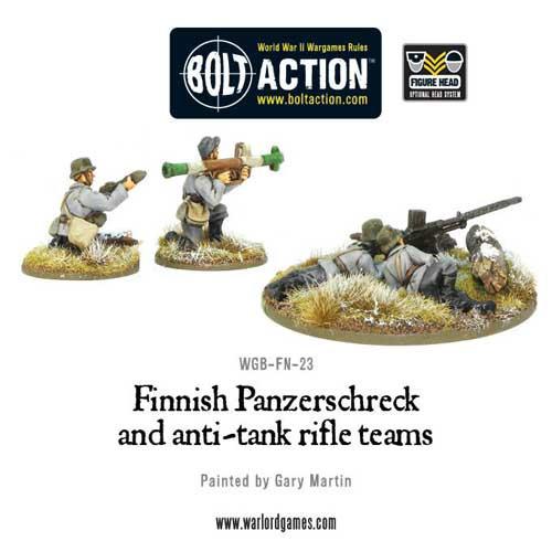 Bolt Action: Finnish Panzerschreck & Anti-Tank Rifle Teams